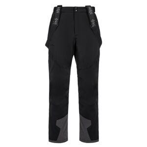 Pánské zimní lyžařské kalhoty kilpi reddy-m černá xl
