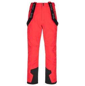Pánské zimní lyžařské kalhoty kilpi reddy-m červená xls