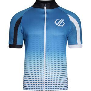 Pánský cyklistický dres dare2b virtuousity modrá xl