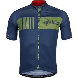 Pánský cyklistický dres kilpi chaser-m tmavě modrá  l