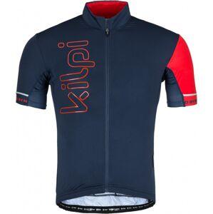 Pánský cyklistický dres kilpi elyon-m tmavě modrá xl