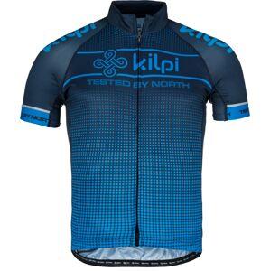 Pánský cyklistický dres kilpi entero-m modrá  l