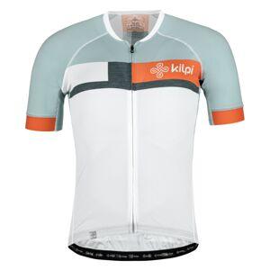 Pánský cyklistický dres kilpi treviso-m bílá m