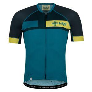 Pánský cyklistický dres kilpi treviso-m tmavě modrá s