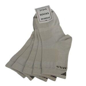 Ponožky bushman prost set 2,5 béžová 39-42