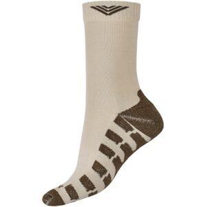Ponožky bushman trek béžová 39-42