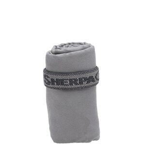 Rychleschnoucí ručník sherpa šedá s