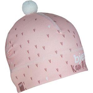 Sportovní čepice bjež heart růžová  m