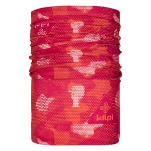 Unisex multifunkční šátek/nákrčník kilpi darlin korálová uni