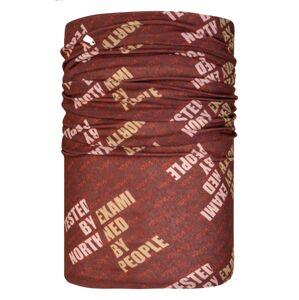 Unisex multifunkční šátek/nákrčník kilpi darlin tmavě červená uni