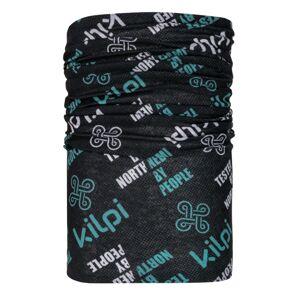 Unisex multifunkční šátek/nákrčník kilpi darlin tmavě šedá uni