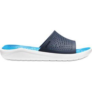 Unisex pantofle crocs literide slide tmavě modrá/bílá 41-42