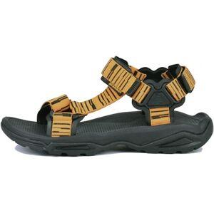 Unisex sandále bushman track žlutá 36