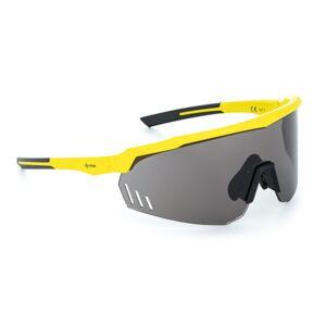 Unisex sluneční brýle kilpi lecanto-u žlutá uni