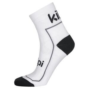 Unisex sportovní ponožky kilpi refty-u bílá 35