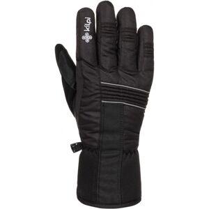 Zimní lyžařské rukavice kilpi grant-u černá xl