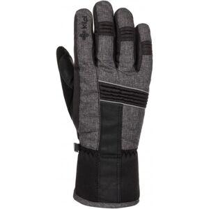 Zimní lyžařské rukavice kilpi grant-u tmavě šedá s