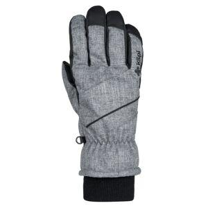 Zimní lyžařské rukavice kilpi tata-u šedá   l
